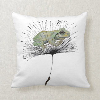 Frog in seed cushion