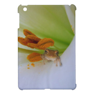 Frog in the Lily iPad cover