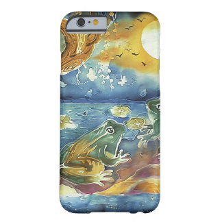 Frog in the Moonlight Painting Barely There iPhone 6 Case