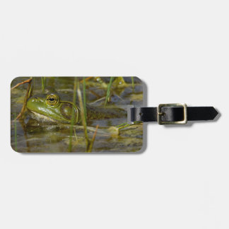 Frog in the Water Luggage Tag