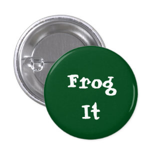 Frog It 3 Cm Round Badge
