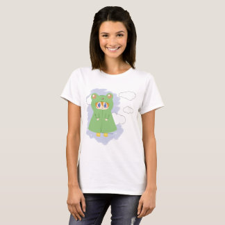 Frog Kawaii Rainy Day Frog T-Shirt