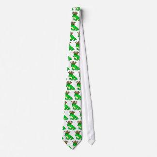 Frog King Tie