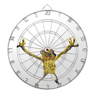 Frog leaping funny Animal Art Dartboards