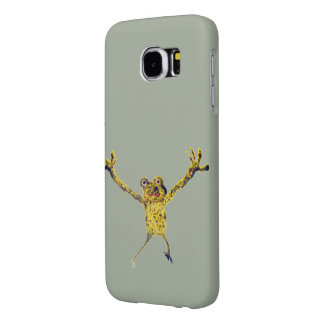 Frog Leaping Funny Animal Art Samsung Galaxy S6 Cases