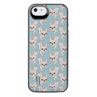 Frog Leg Cream French Bulldog iPhone SE/5/5s Battery Case