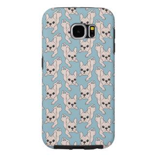 Frog Leg Cream French Bulldog Samsung Galaxy S6 Cases