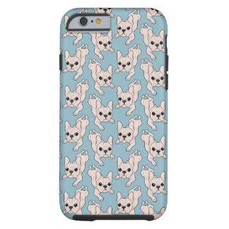 Frog Leg Cream French Bulldog Tough iPhone 6 Case