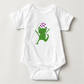Frog Love for baby Baby Bodysuit