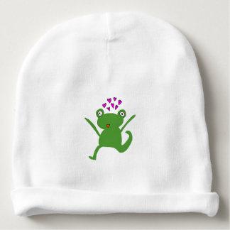 Frog Love Hat Baby Beanie