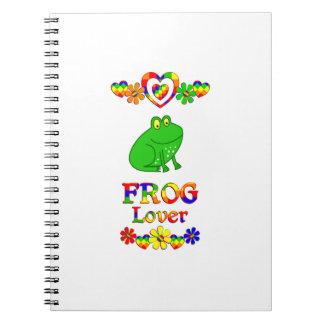 Frog Lover Note Book