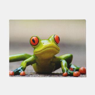 Frog macro doormat