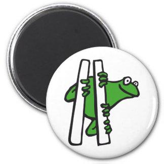 frog refrigerator magnet