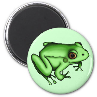 Frog, magnet refrigerator magnets