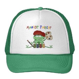 Frog Master Painter Cap