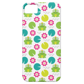 Frog & Nenuphar Seamless Pattern Case For The iPhone 5