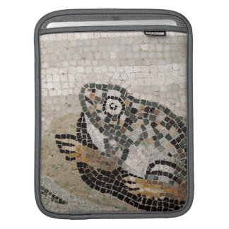 Frog, Nile mosaic, from the House of the Faun iPad Sleeves