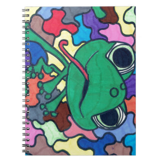 frog notebooks