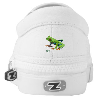 Frog on a Log Printed Shoes