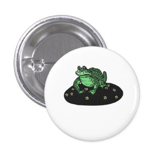 Frog On Lillypad Buttons