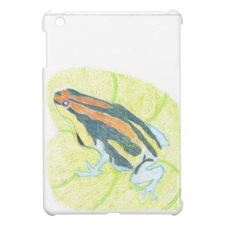 Frog on Lily Pad iPad Mini Case