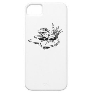 Frog On Lilypad Case For iPhone 5/5S