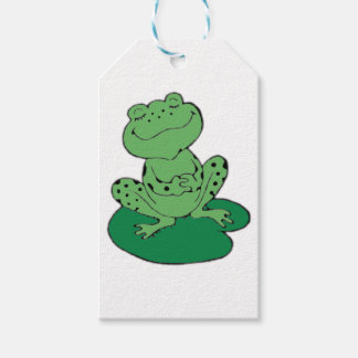 Frog on Lilypad Gift Tags