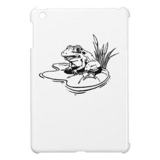Frog On Lilypad iPad Mini Covers