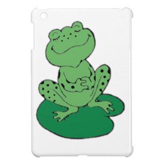 Frog on Lilypad iPad Mini Cases