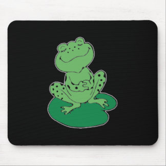 Frog on Lilypad Mouse Pad