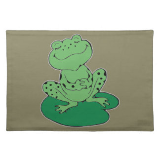 Frog on Lilypad Placemat