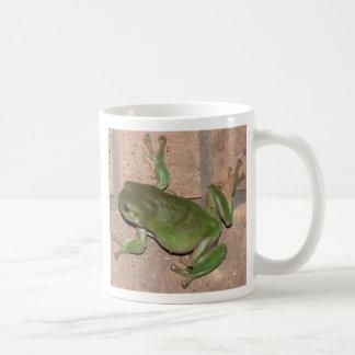 FROG on the wall mug.
