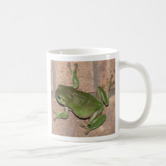 FROG on the wall mug. Coffee Mug
