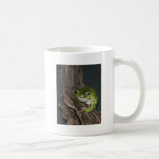 Frog on Tree Coffee Mug