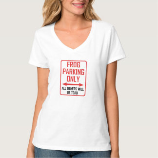 Frog Parking All Others Toad T-Shirt