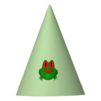 Frog Party Hat