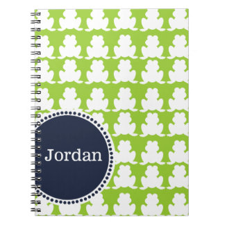 Frog Pattern Note Books