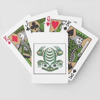 Frog Playing cards