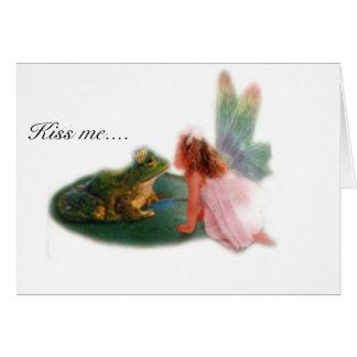 Frog Prince Card