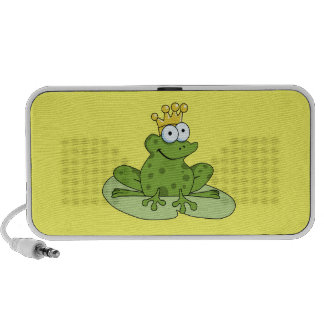 Frog Prince Doodle Mini Speaker