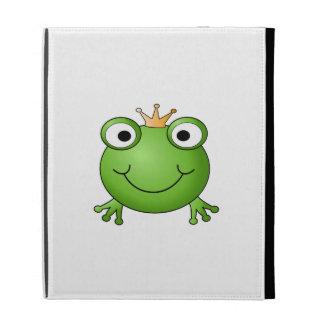 Frog Prince. Happy Frog. iPad Folio Case