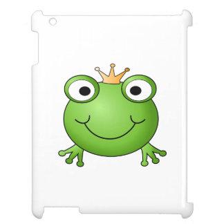 Frog Prince. Happy Frog. iPad Case