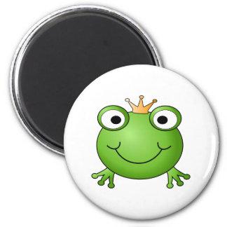 Frog Prince Happy Frog Magnets