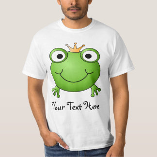 Frog Prince. Happy Frog. T-Shirt