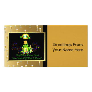 Frog Prince Photo Card Template
