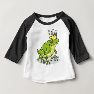 Frog Prince Princess Sketch Baby T-Shirt
