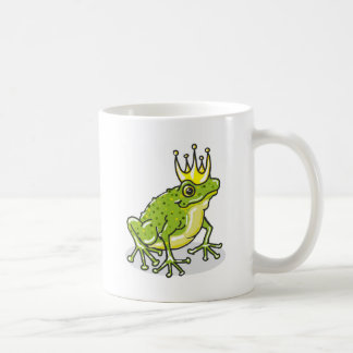 Frog Prince Princess Sketch Coffee Mug