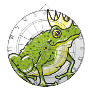 Frog Prince Princess Sketch Dartboard