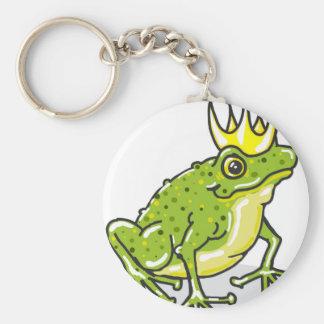 Frog Prince Princess Sketch Key Ring
