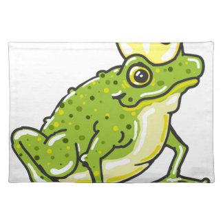 Frog Prince Princess Sketch Placemat